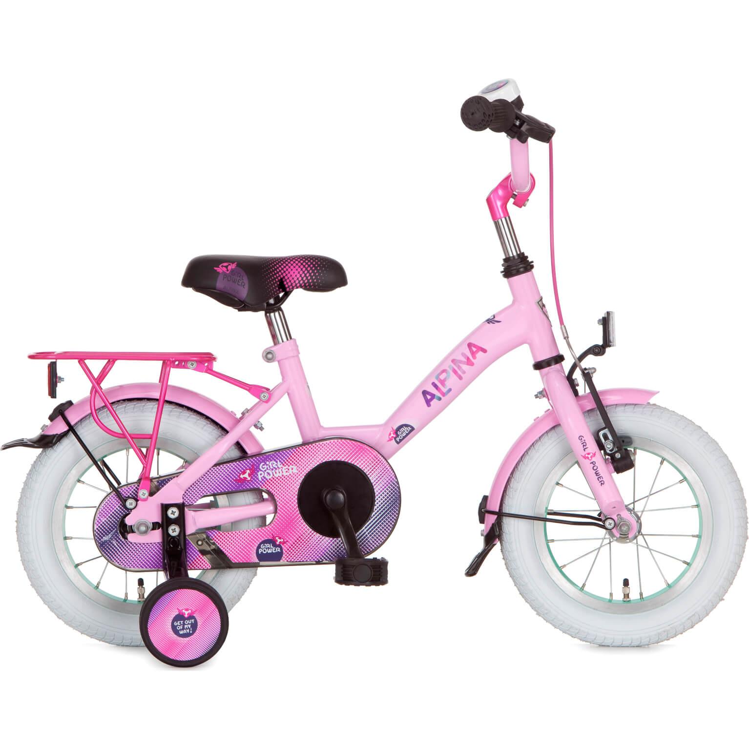 "Alpina Girlpower Meisjes 12"" Sparkle Pink"