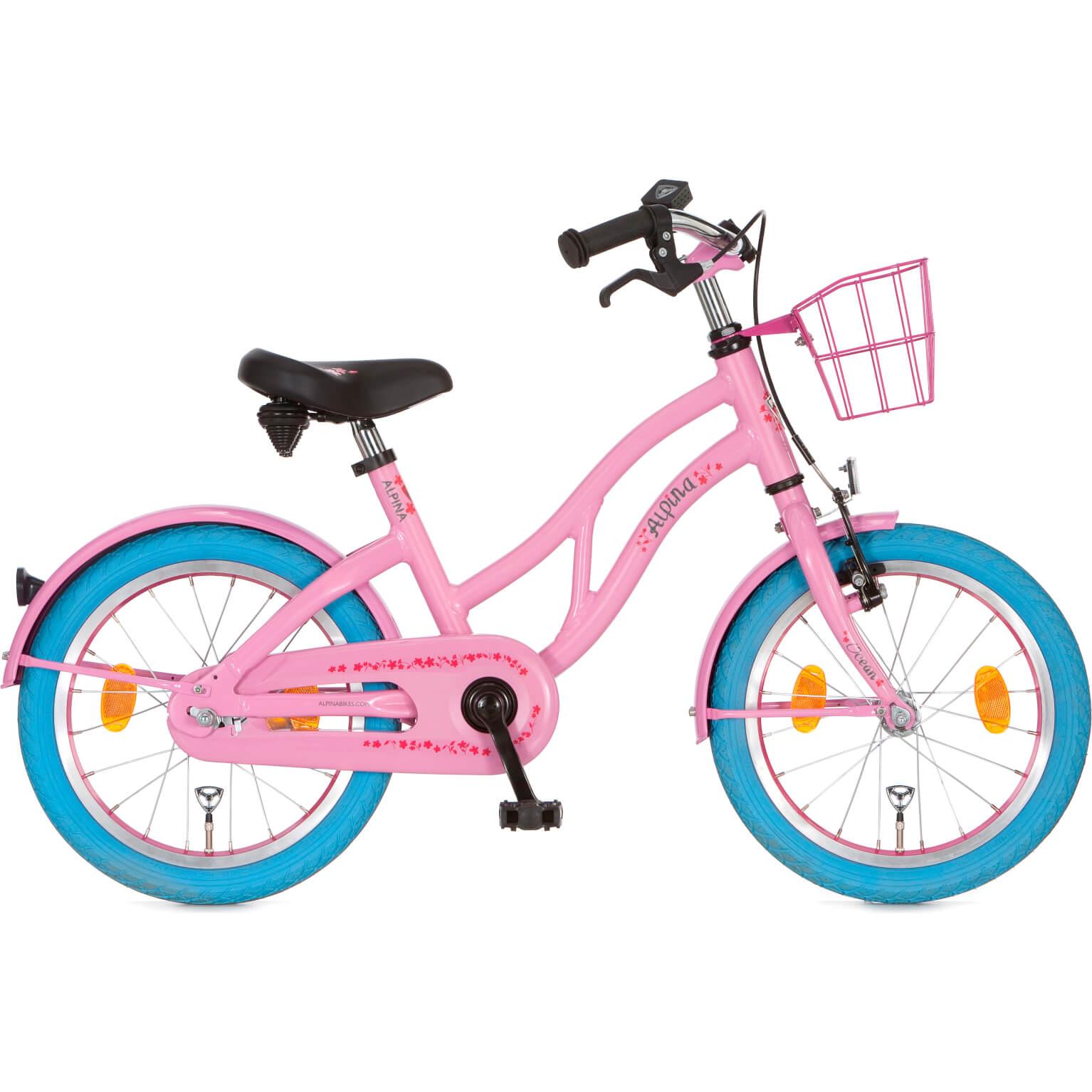"""Alpina Ocean Meisjes 16""""/28 Sweet Pink"""