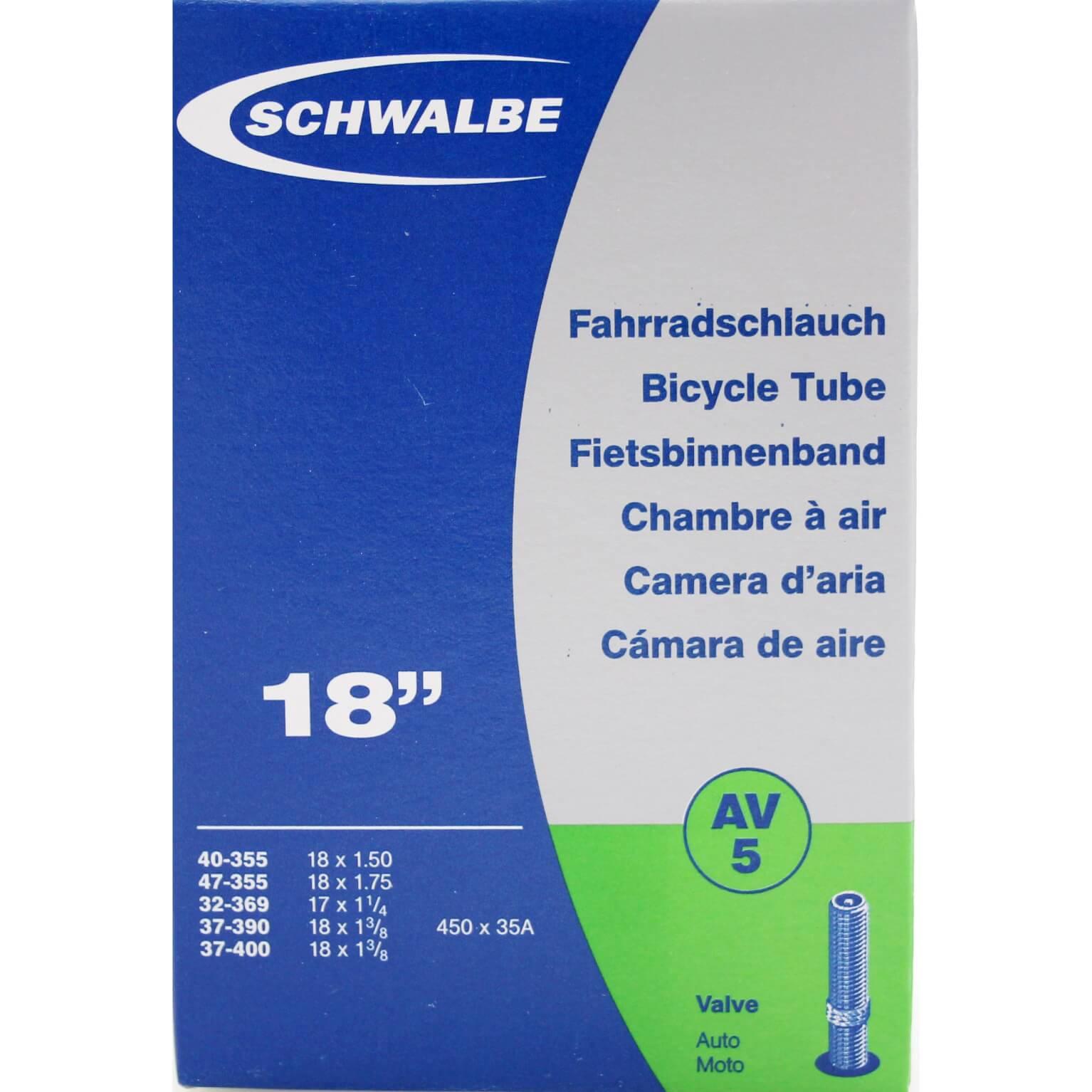 Schwalbe bnb AV5 17 x 1 1/4 - 18 x 1.75 av 40mm