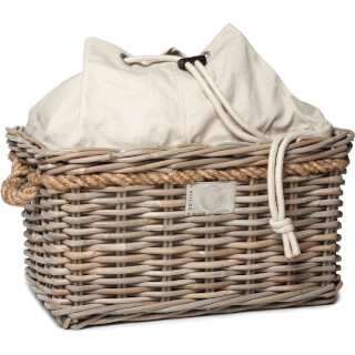 Cortina Valencia Rattan Basket - medium