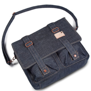 Cortina Kansas Messenger Bag Denim  default_cortina 320x320