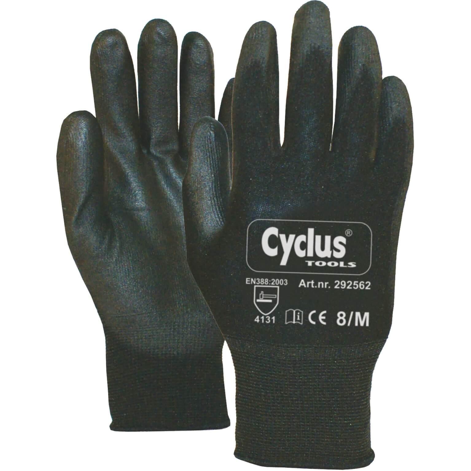Cyclus handschoen WP M zw/gl