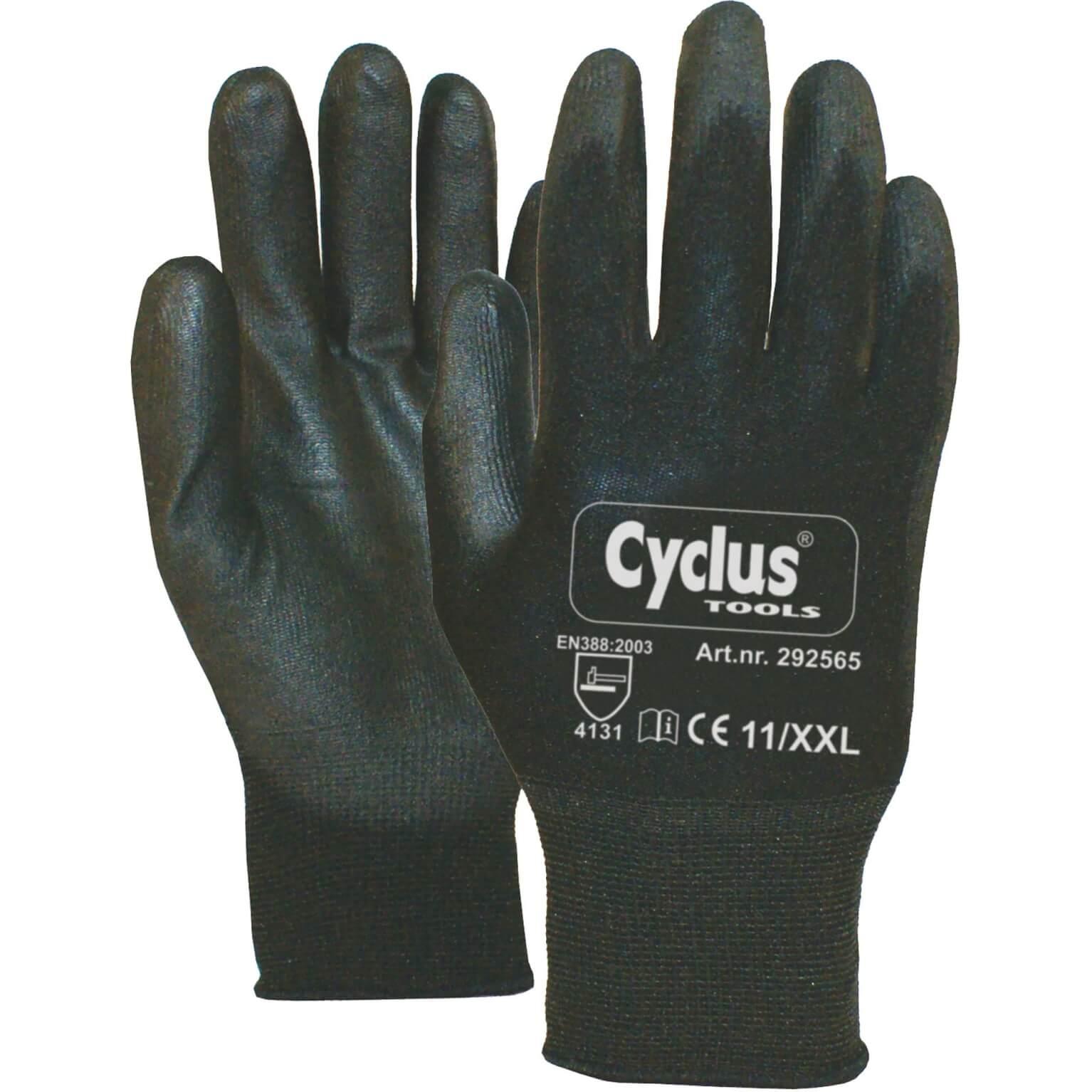 Cyclus handschoen WP XXL zw/bl