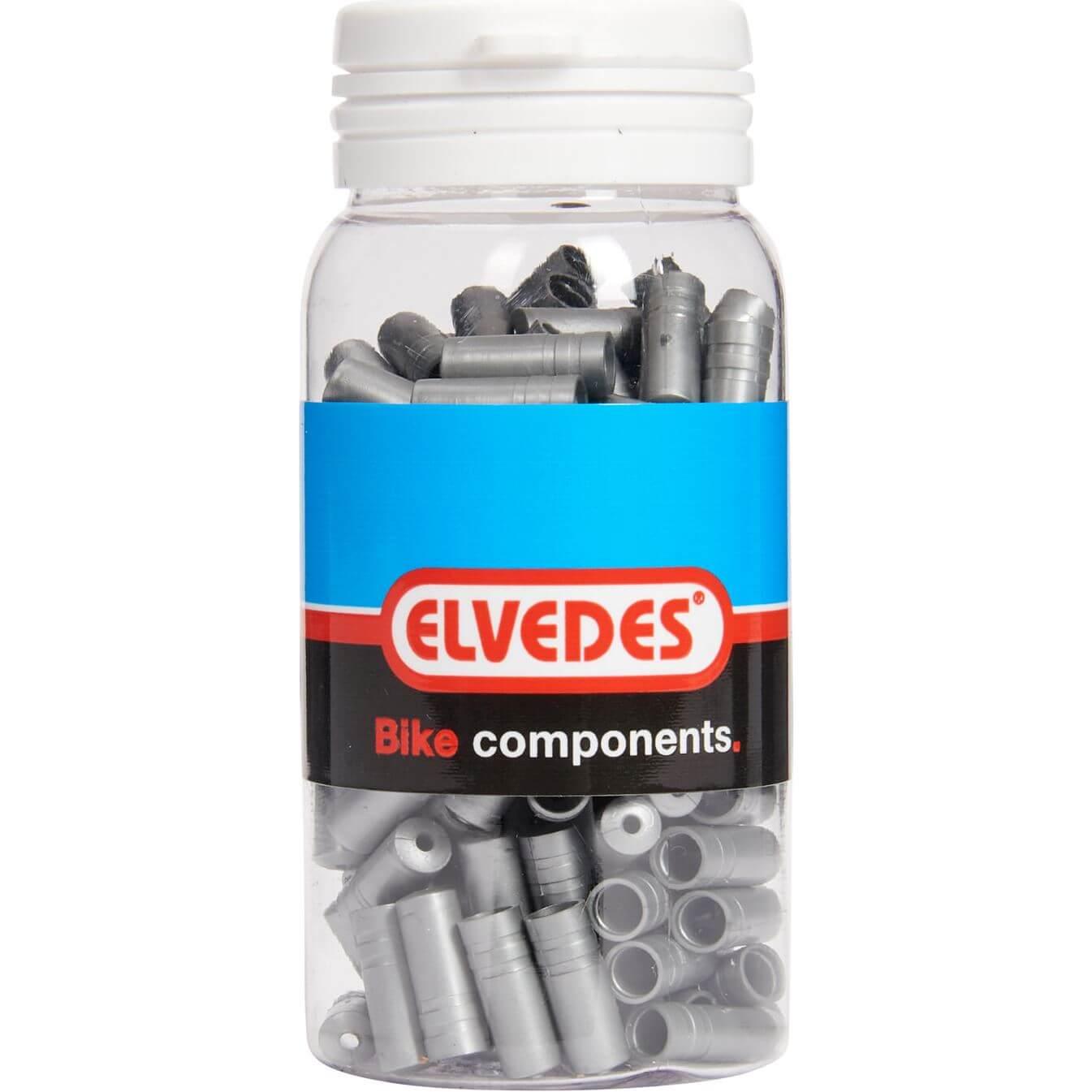 ds Elvedes kabelhoedje 4.3mm PVC zi (150)