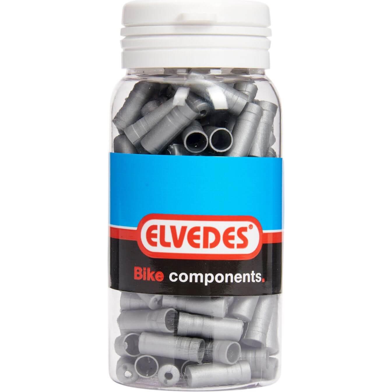 ds Elvedes kabelhoedje 5.0mm PVC zi (150)