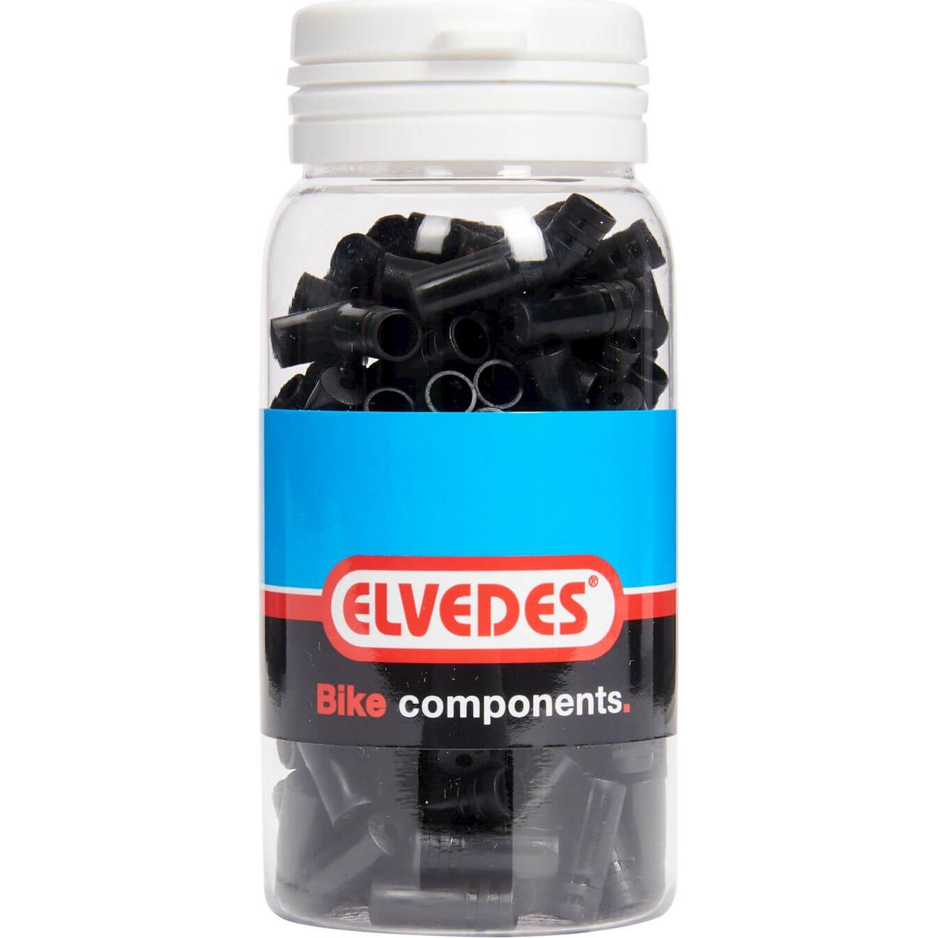 ds Elvedes kabelhoedje 4.3mm PVC zw (150)