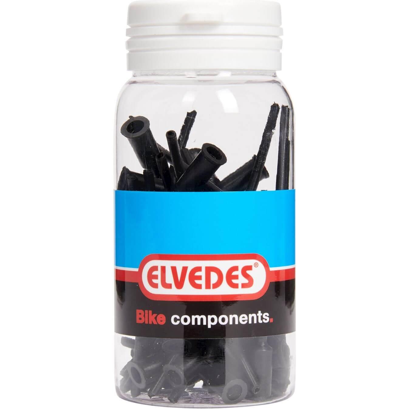 ds Elvedes kabelhoedje 4.3mm PVC met tip (50)
